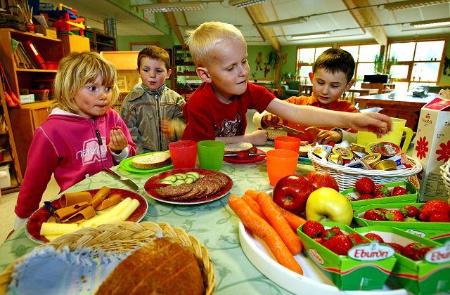 Skolemat. Foto: Fager Ernæring